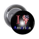 Amor América Pins