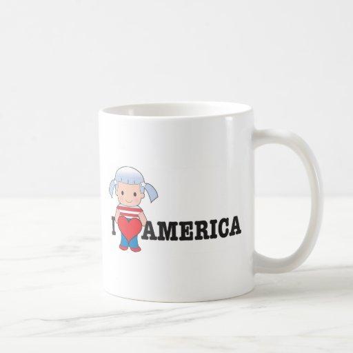 Amor América Taza De Café
