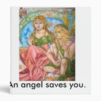Amor and a princess., An angel saves you. Binder