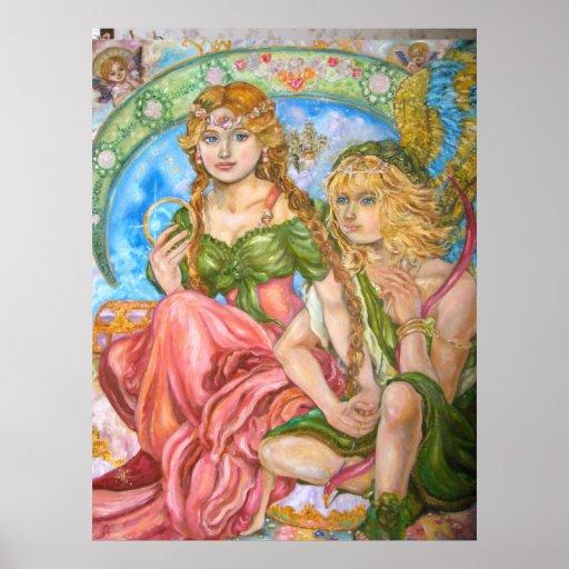 Amor and a princess. poster