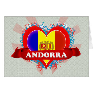 Amor Andorra del vintage I Tarjetón