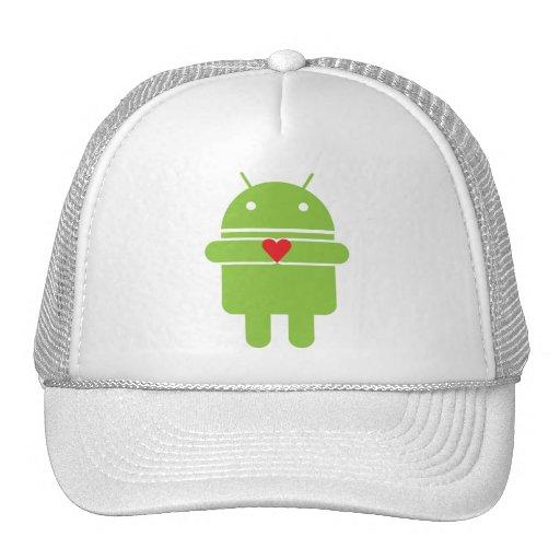Amor androide gorro de camionero