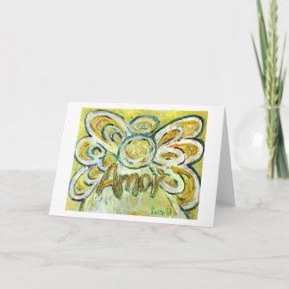 Amor Angel Greeting Card
