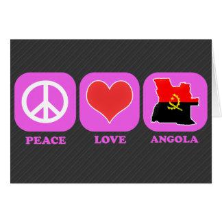 Amor Angola de la paz Felicitaciones