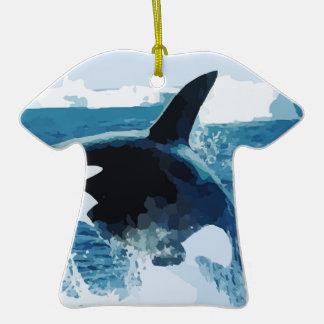 Amor animal de la paz de los pescados del océano d ornato