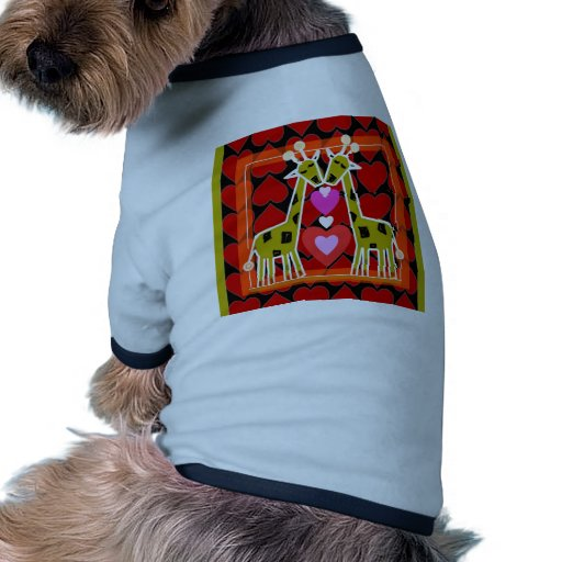 Amor animal camisa de perro
