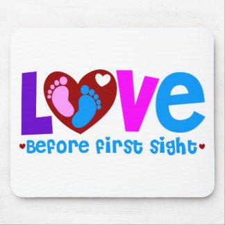 Amor antes de la primera vista mouse pad