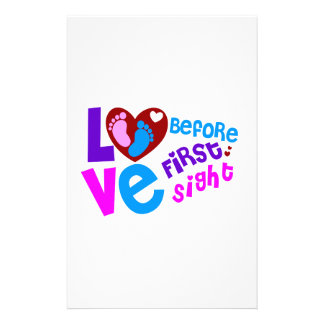 Amor antes de la primera vista  papeleria de diseño