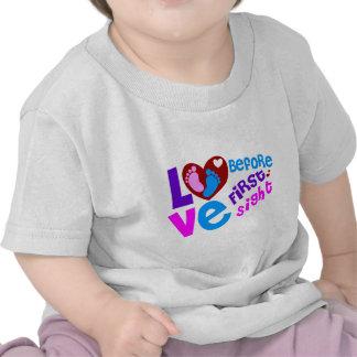 Amor antes de la primera vista camiseta