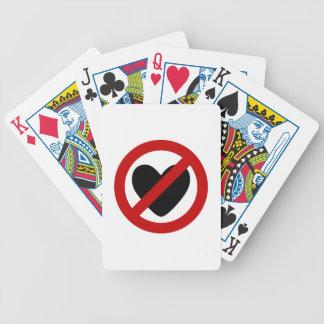 Amor anti baraja cartas de poker
