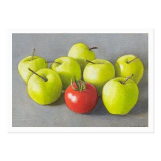 Amor Apple Tarjetas De Visita Grandes