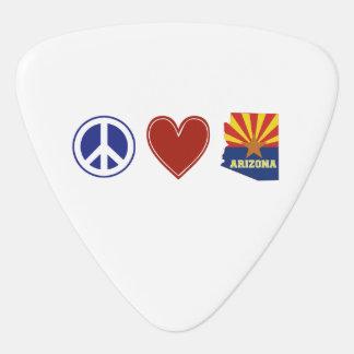 Amor Arizona de la paz Púa De Guitarra