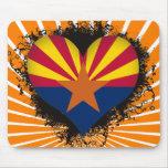 Amor Arizona del vintage I Tapete De Raton