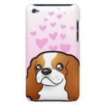 Amor arrogante del perro de aguas de rey Charles Funda Para iPod De Barely There