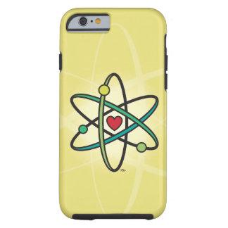 Amor atómico funda para iPhone 6 tough