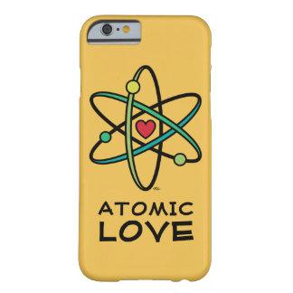Amor atómico funda de iPhone 6 barely there