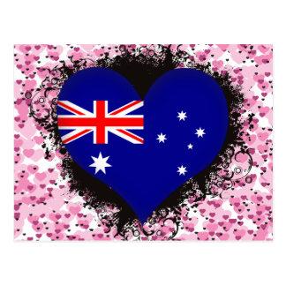 Amor Australia del vintage I Tarjetas Postales