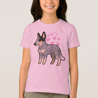 Amor australiano del perro/del Kelpie del ganado Playera