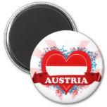 Amor Austria del vintage I Iman Para Frigorífico