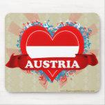 Amor Austria del vintage I Tapetes De Ratón