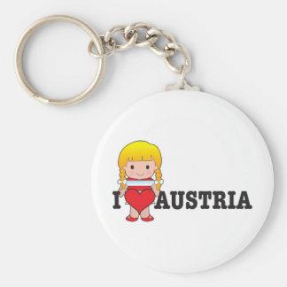 Amor Austria Llavero Personalizado