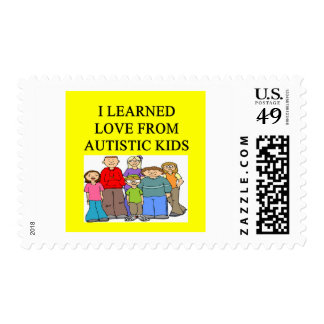 amor autístico de los niños envio