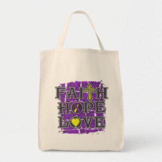 Amor autoinmune de la esperanza de la fe de la bolsa tela para la compra