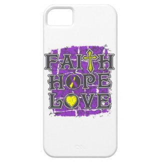 Amor autoinmune de la esperanza de la fe de la iPhone 5 Case-Mate cárcasa
