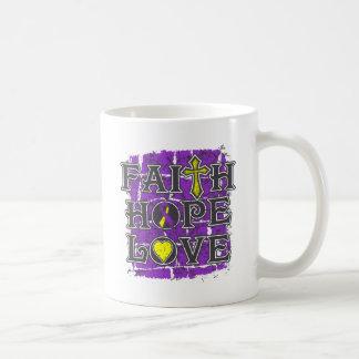 Amor autoinmune de la esperanza de la fe de la hep taza de café