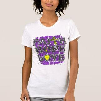 Amor autoinmune de la esperanza de la fe de la camiseta