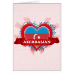 Amor Azerbaijan del vintage I Felicitacion