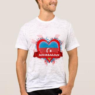 Amor Azerbaijan del vintage I Playera