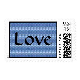 amor azul sellos