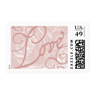 Amor B floral de Ceci Nueva York Sellos Postales