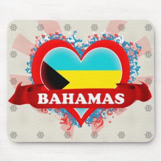 Amor Bahamas del vintage I Alfombrillas De Ratones