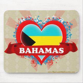 Amor Bahamas del vintage I Tapetes De Ratones
