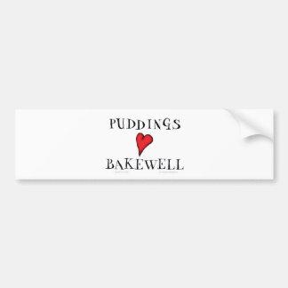 Amor Bakewell, fernandes tony de los pudines Pegatina Para Auto