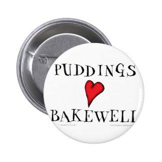 Amor Bakewell, fernandes tony de los pudines Pin Redondo De 2 Pulgadas