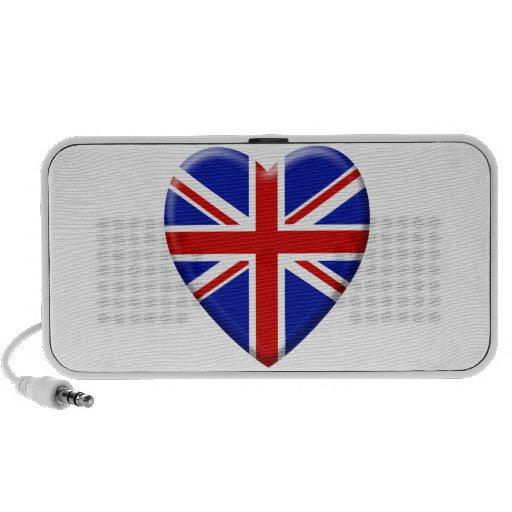 amor bandera el Reino Unido Inglaterra Altavoces