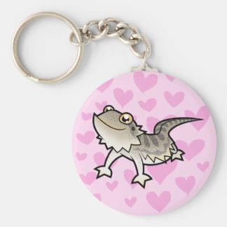 Amor barbudo del dragón del dragón de Rankin Llavero Personalizado