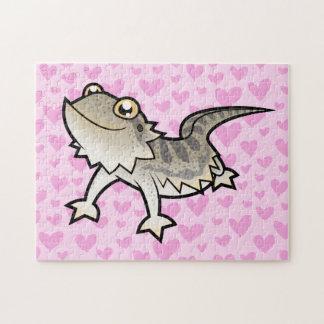 Amor barbudo del dragón del dragón de Rankin Puzzles