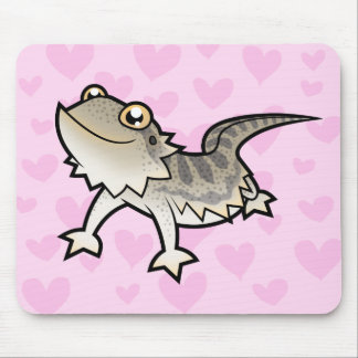Amor barbudo del dragón del dragón de Rankin Tapetes De Ratón