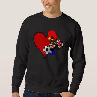Amor, Barcelos, é Maravilhoso de Futebol - de Deus Sudaderas Encapuchadas