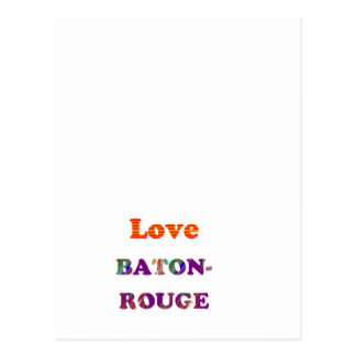 Amor BATON ROUGE Luisiana Tarjetas Postales