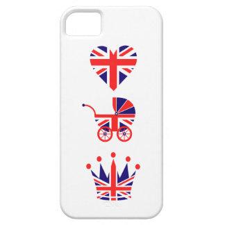 Amor, bebé, corona iPhone 5 carcasas