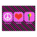Amor Benin de la paz Postal
