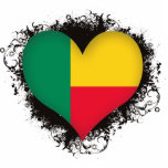 Amor Benin del vintage I Esculturas Fotograficas