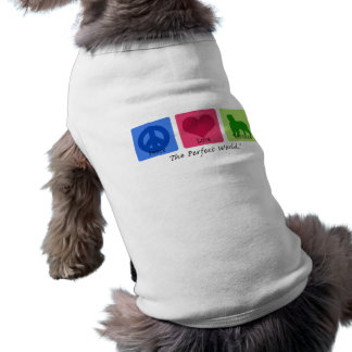 Amor Bernese de la paz Camisetas Mascota