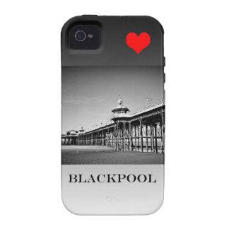 Amor Blackpool Case-Mate iPhone 4 Fundas