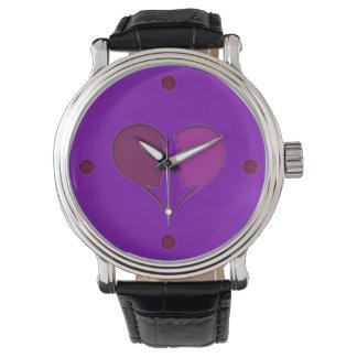 Amor blando reloj de mano